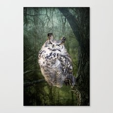 By the Light... Canvas Print