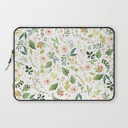 Botanical Spring Flowers Laptop Sleeve