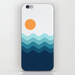 Abstract Landcape 14 Portrait iPhone Skin