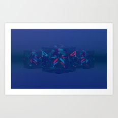 Refract Art Print