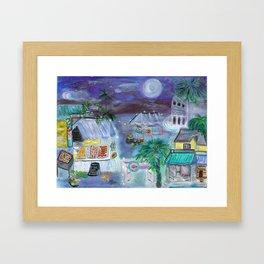 """""""Gouyave Friday"""" Framed Art Print"""