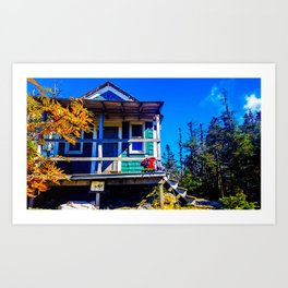 Cabot Cabin in Autumn Art Print