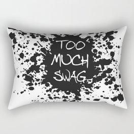 Too Much Swag Rectangular Pillow