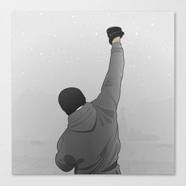 Rocky Balboa Canvas Print