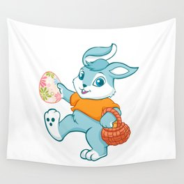 Easter bunny rabbit Wall Tapestry