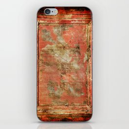 Red Panel iPhone Skin
