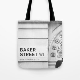 Baker Street, London Photography Tote Bag