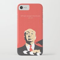hitchcock iPhone & iPod Cases featuring Hitchcock by berg with ice
