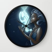 soul Wall Clocks featuring Soul by Sha-Nee Williams