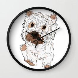 West Highland Terrier dog Wall Clock