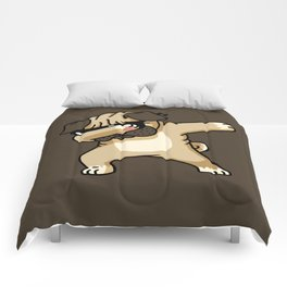 Dabbing Pug Comforters