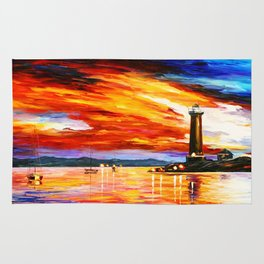 Light Art Tower Rug