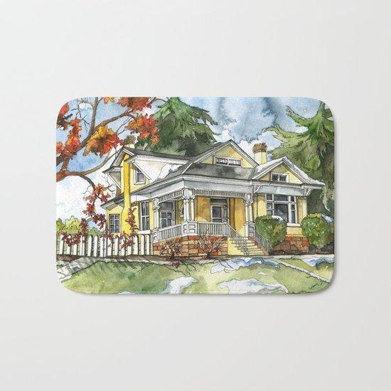 The Autumn House Bath Mat