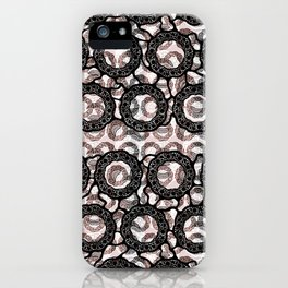 Intricate Chaos II iPhone Case