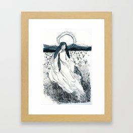 Ink Saint Framed Art Print