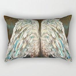 Mystic Angel Wings Rectangular Pillow
