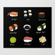 Sushi Days two Canvas Print