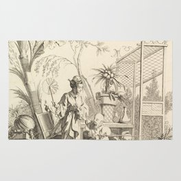 Grisaille Chinoiserie Rug