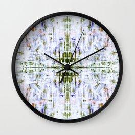 The Grunge Edit Invert Mirrored Wall Clock
