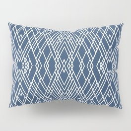 Art Deco Navy Pillow Sham
