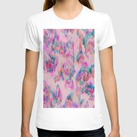 ikat T-shirts featuring Ikat Glitch by sarahroseprint
