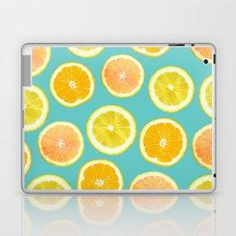 Lemon Citrus Melody Print Laptop & iPad Skin