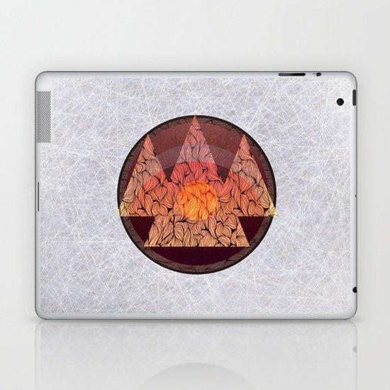 Sunset in the mountains Laptop & iPad Skin