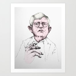 David Hockney Art Print