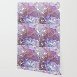 Pink Aura Crystals Wallpaper