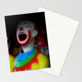 Laughing Clowns Stationery Cards