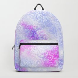 Modern Abstract Pink lavender Lilac Glitter Backpack