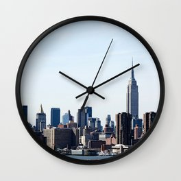 Nw York City View Wall Clock