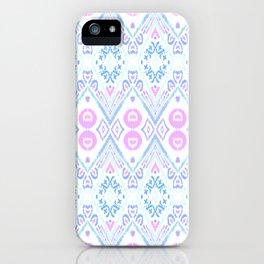 Ikat Java Pink iPhone Case