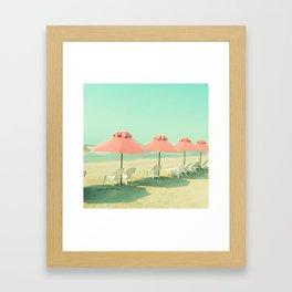 Pink Row II Framed Art Print