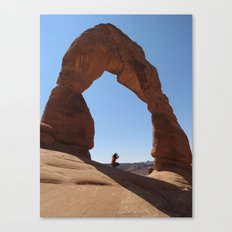 Framed - Delicate Arch Canvas Print