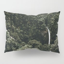 Waterfall / Costa Rica Pillow Sham