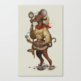 Multi-tasking timeboss Canvas Print