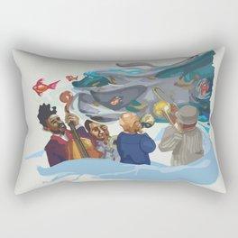 Jazz band Rectangular Pillow