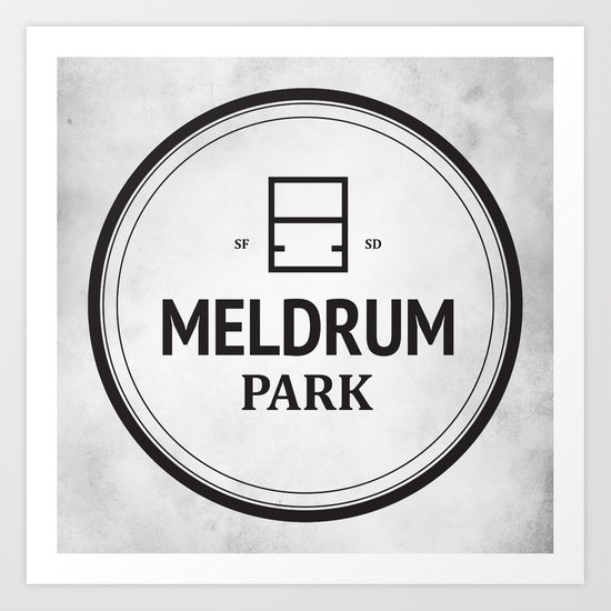 Meldrum Park Art Print
