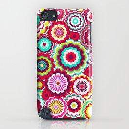 Bright Flower Dash iPhone Case