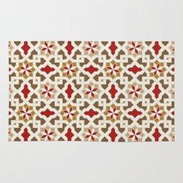Beautiful oriental flower pattern 5 Rug