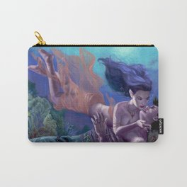 Saving Kiss Carry-All Pouch