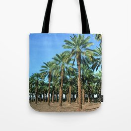 Date Palm Trees Tote Bag