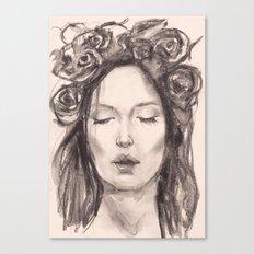 Actress Monica Bellucci - Editorial Canvas Print