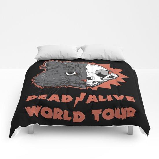 Schrödinger - DEAD/ALIVE World Tour Comforters