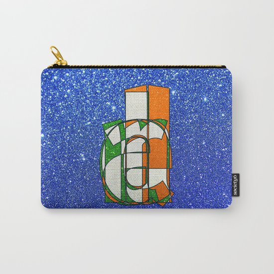IRELAND - Glitter Carry-All Pouch