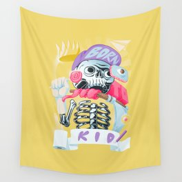 Born to kid Wall Tapestry