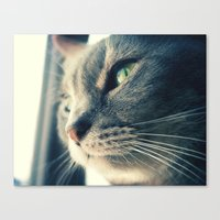 xena Canvas Prints featuring Xena by Kylee Daniels