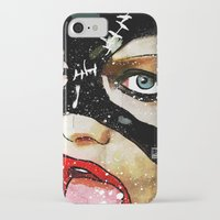 catwoman iPhone & iPod Cases featuring Catwoman by Ed Pires