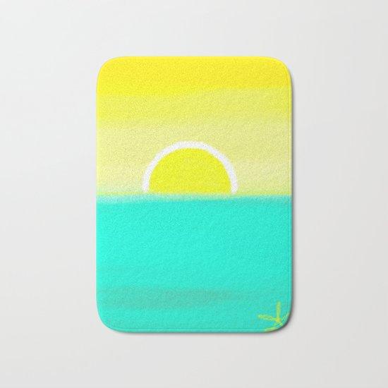 Birthday Yellow Bath Mat